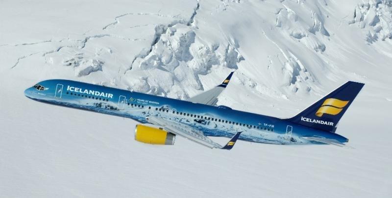España e Islandia, de nuevo conectadas por avión
