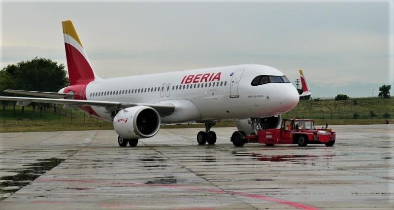 El primer A320neo de Iberia (Foto: Iberia).