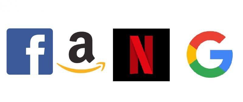FANG es el acrónimo formado por las primeras letras de Facebook, Amazon, Netflix y Google.