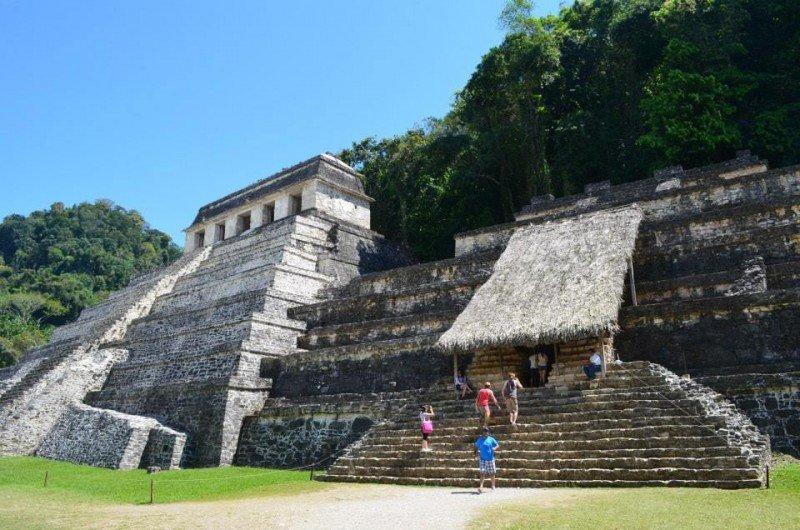 Palenque, zona arqueológica maya en México. (Foto: Taiana González)