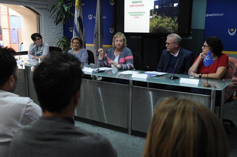 Presentación del llamado a proyectos en Montevideo. Foto: Presidencia