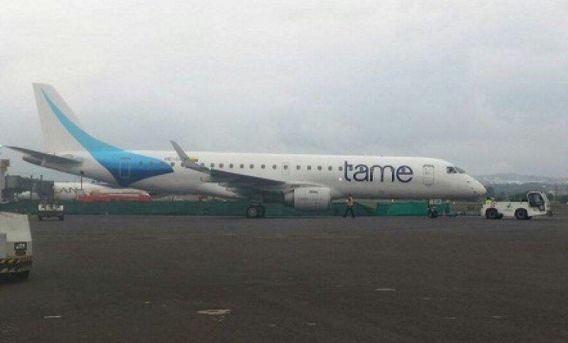 TAME recupera dos aviones y abre rutas directas con Bogotá