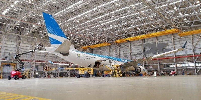 Aerolíneas Argentinas pone en funcionamiento el 'Hangar 5'