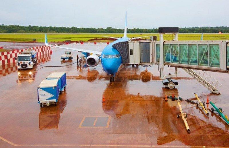 La pista ya está lista aunque siguen las obras en otras áreas de la terminal.