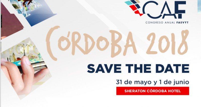 Programa definido para el CAF 2018 de Córdoba