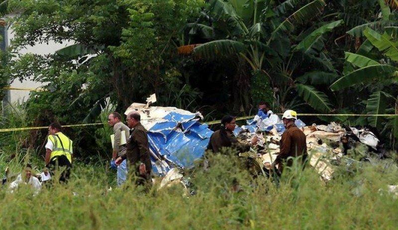 El Boeing 737 accidentado había sido alquilado por la firma Cubana de Aviación a la compañía mexicana Global Air. Foto: TVN Noticias