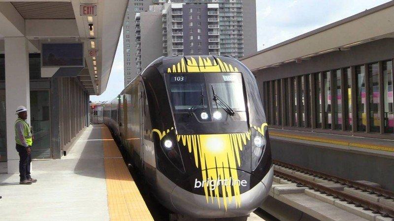 Fue inaugurada la estación de Brightline en Miami y el tramo desde esta ciudad a Fort Lauderdale.