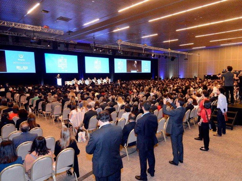 China LAC 2017 en el Centro de Convenciones de Punta del Este.