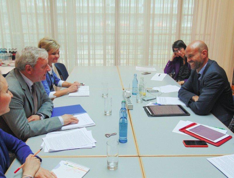 El Ministro de Transporte de Argentina, Guillermo Dietrich se reunió con el viceministro de la Federación Rusa, Alexander Yurchik.