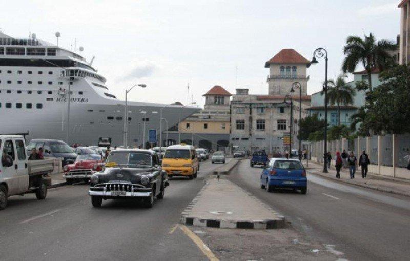 Puerto de cruceros de La Habana ,que será ampliado de dos a seis terminales. Foto: Granma