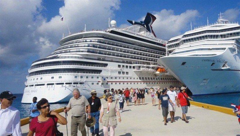 República Dominicana tuvo 1,14 millones de cruceristas en 2017.