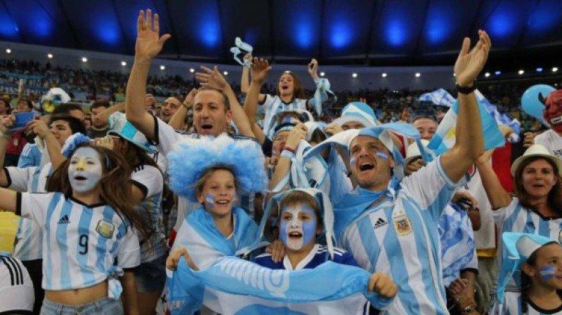 Como en cada Mundial los argentinos seguirán fielmente a su selección en Rusia.