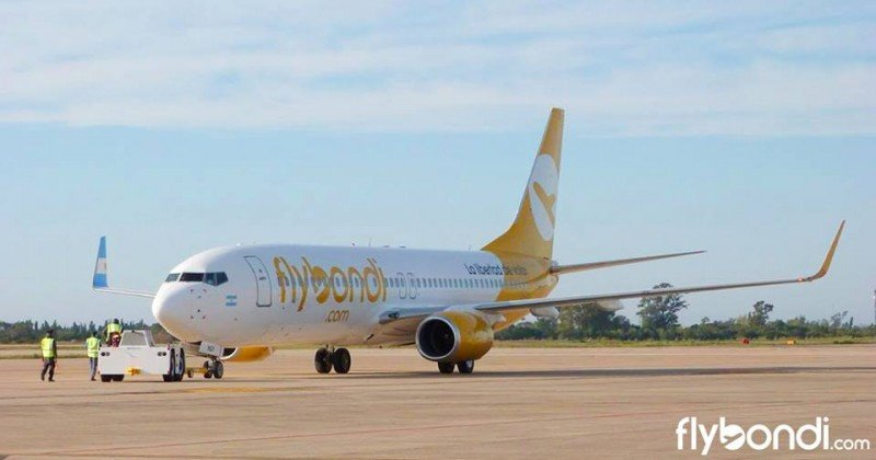Flybondi suma a Bahía Blanca entre sus destinos desde el Palomar