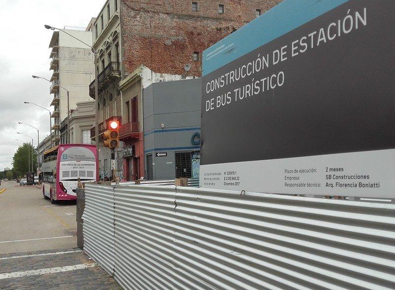 La construcción de la nueva estación fue licitada por unos US$ 70.000. Fotos: J. Lyonnet.