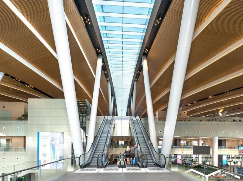 El mega aeropuerto inaugurado en Rusia para el Mundial