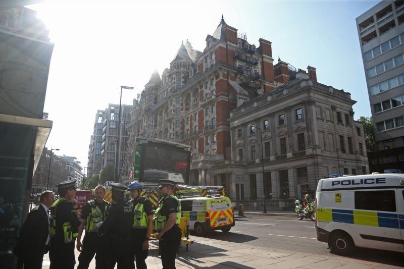 El incendio ha quedado totalmente extinguido desde la noche de ayer. Foto: Standard.co.uk.