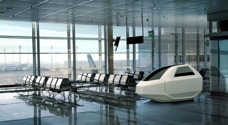 El negocio de la siesta en los aeropuertos