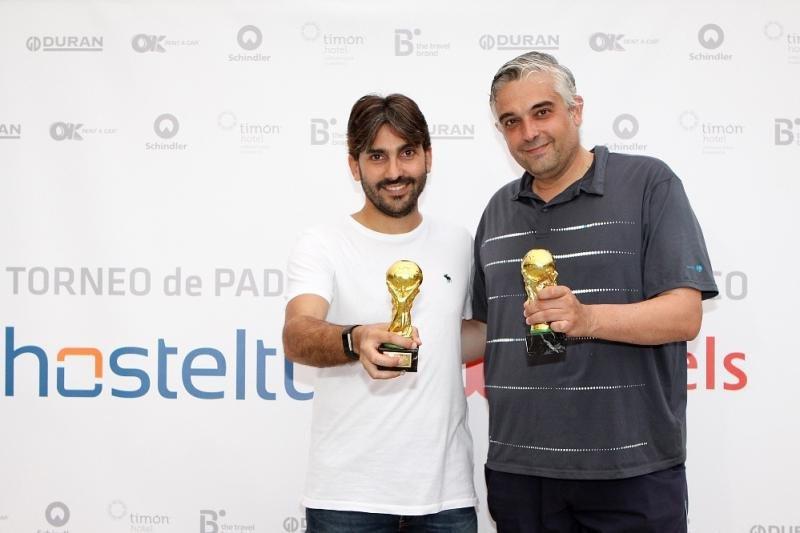 Pau Vidal e Ismael Arévalo de THB Hotels, quedaron en cuarto lugar.