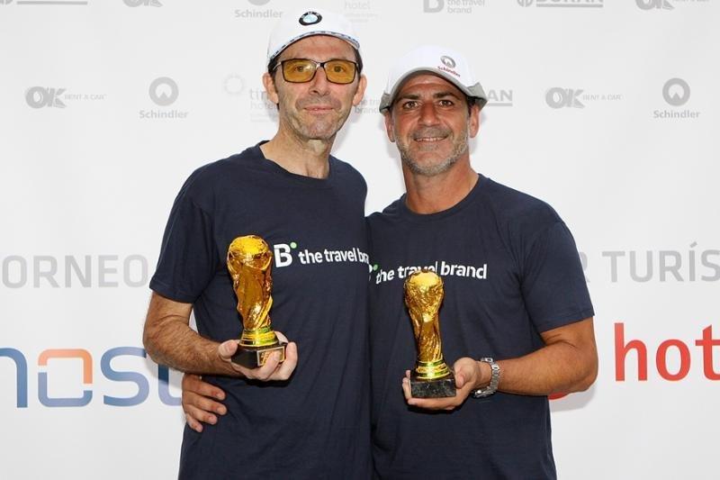 José Segura y Fausto Oviedo Subías, de Ávoris quedaron en segundo lugar.
