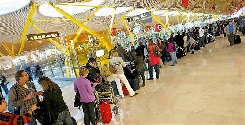 Los aeropuertos españoles suman más de 95 M de pasajeros hasta mayo