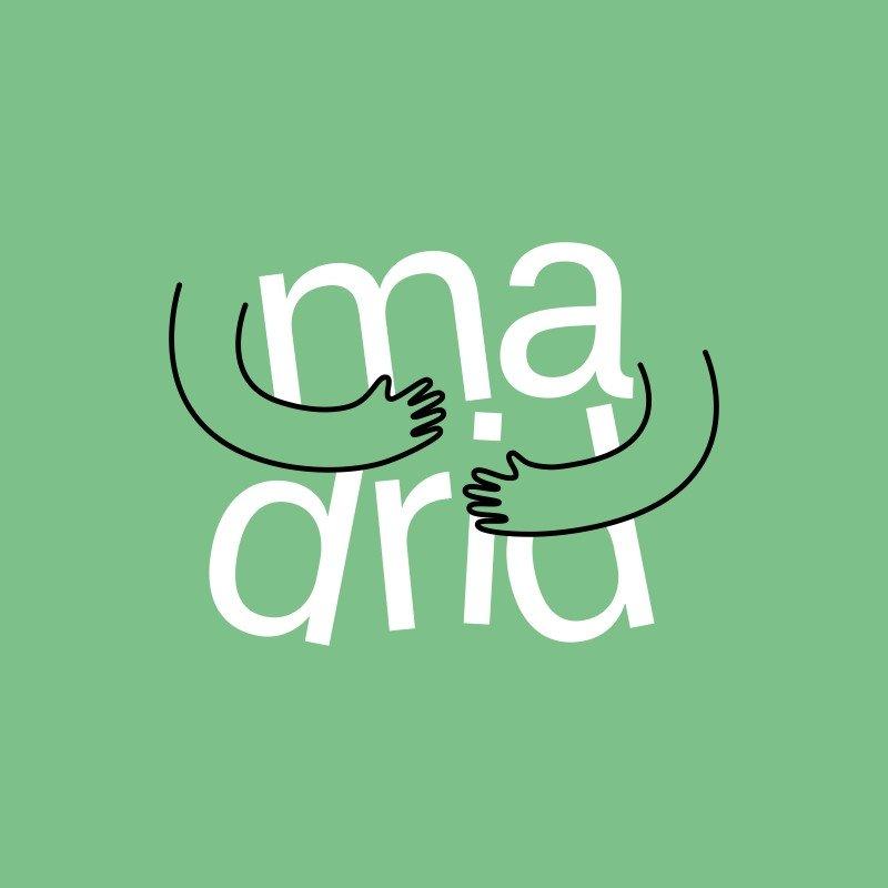 El nuevo diseño de la marca Madrid integra el símbolo más representativo de la hospitalidad de la ciudad, el abrazo.