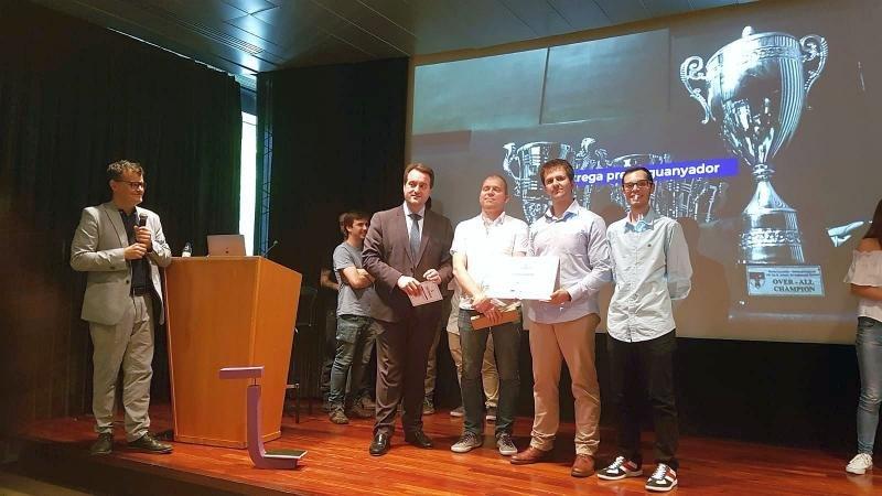 El grupo We Are, ganador de la 3ª edición de Puerto Innova-Barcelona Port Hackathon.