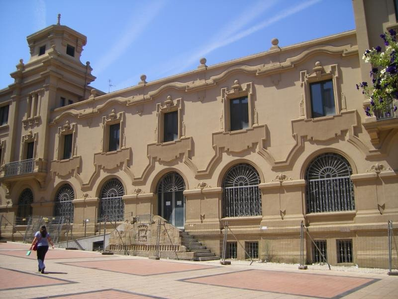 El edificio fue construido en los años 30. Foto: Ayuntamiento de Logroño.