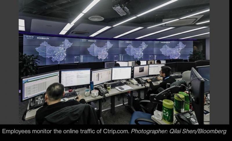 Los 350 millones de usuarios de Ctrip generan aproximadamente 50 terabytes (50.000 millones de bytes) de datos al día.