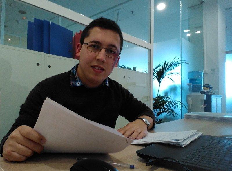 Juan Antonio Campaña, licenciado en Ciencias Ambientales, es el coodinador de Calidad y Medio Ambiente, un departamento que la cadena incorporó hace más de un año.