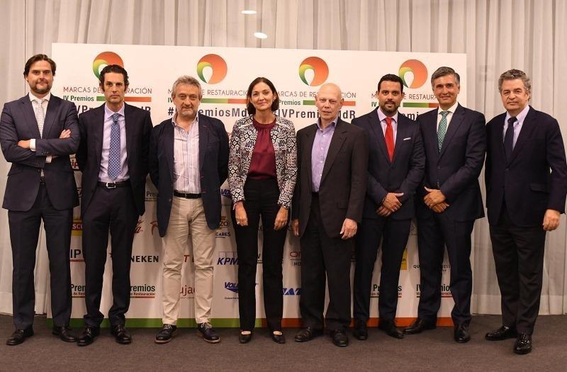 Al acto de entrega de los premios acudió la ministra de Industria, Comercio y Turismo, Reyes Maroto, que felicitó a Marcas de Restauración por su cada vez mayor representatividad dentro del sector.