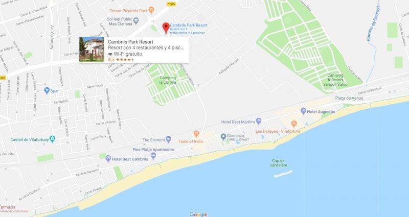 Ubicación del establecimiento. Imagen: Google Maps
