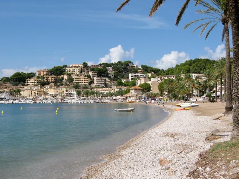 Puerto de Sóller, en Mallorca. Foto: Olaf Tausch.
