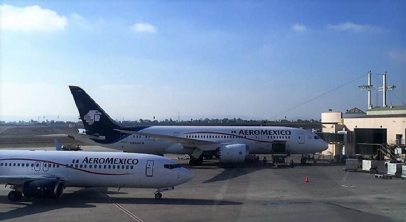 Aeroméxico aumenta sus vuelos entre México y España