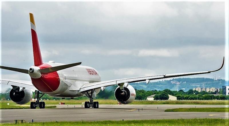Iberia recibe su primer A350-900 única versión mejorada en el mundo hasta ahora.