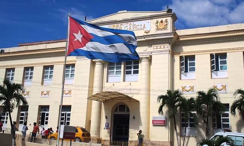 Hospital Calixto García, en La Habana.