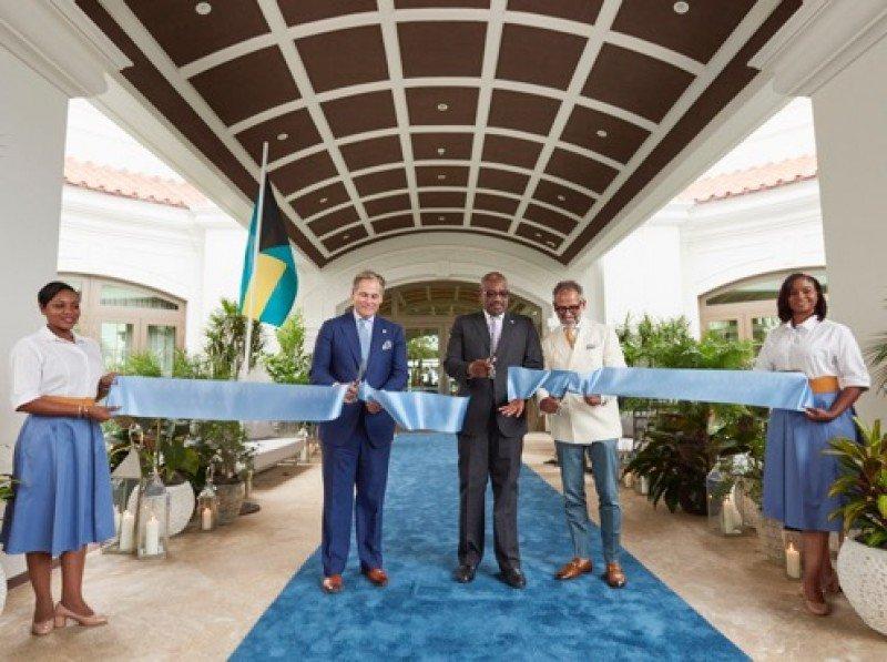 Con la inauguración de Rosewood Baha Mar el  complejo de US$ 4.200 millones fue completado.