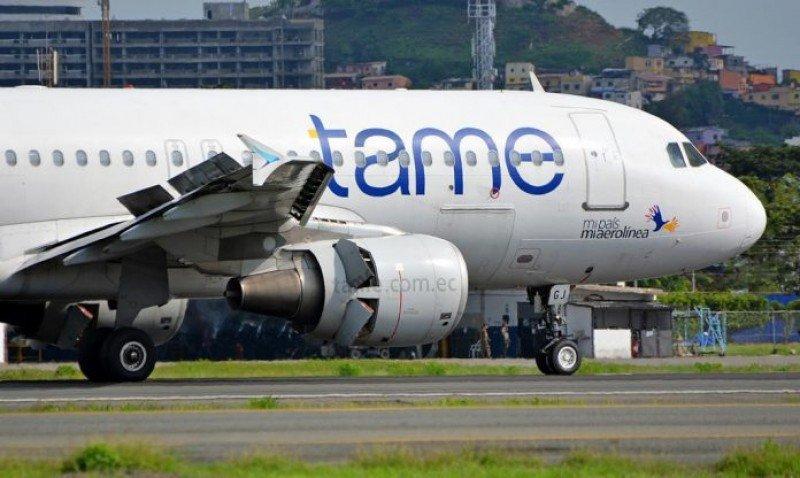 Ecuatoriana TAME se reestructura y abre nueva ruta Quito-Bogotá
