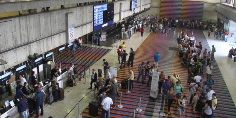 Aeropuerto Internacional de Maiquetía Simón Bolívar.