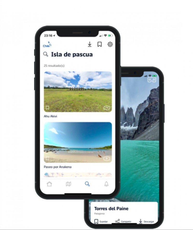 App Chile 360° ofrece visita virtual a los destinos turísticos