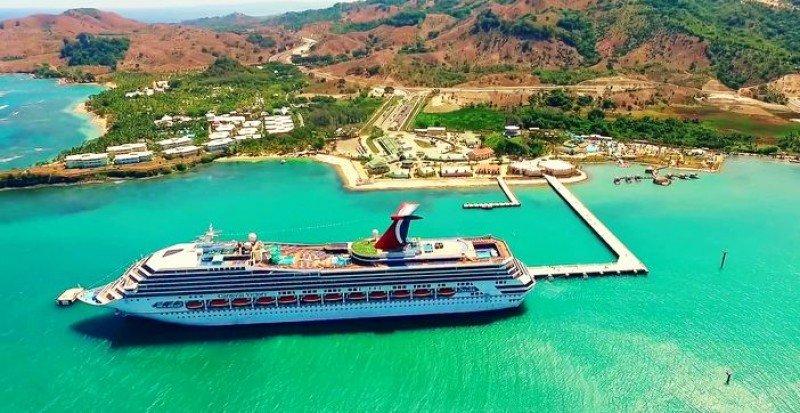 Amber Cove, cerca de Puerto Plata, uno de los destinos de cruceros en República Dominicana.