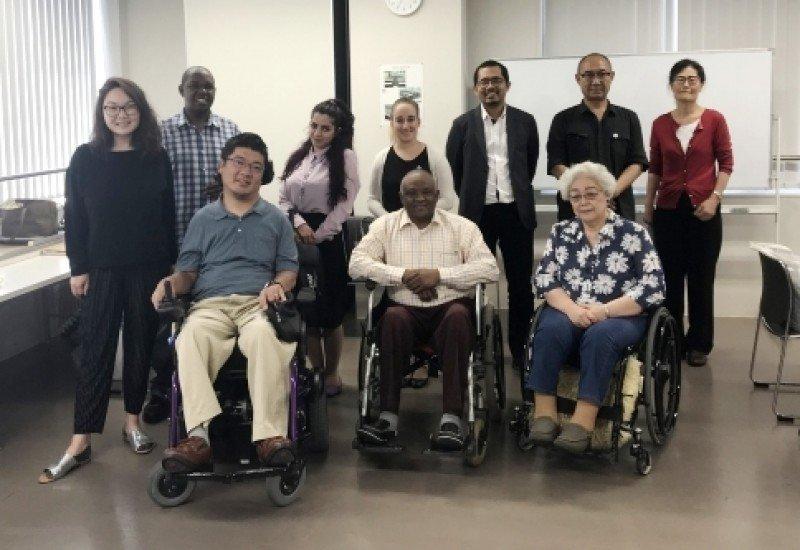 Uruguay se capacita en accesibilidad en Japón