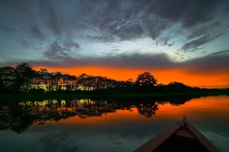 La conservación amazónica tiene en el turismo una oportunidad. Foto: Aleteia.