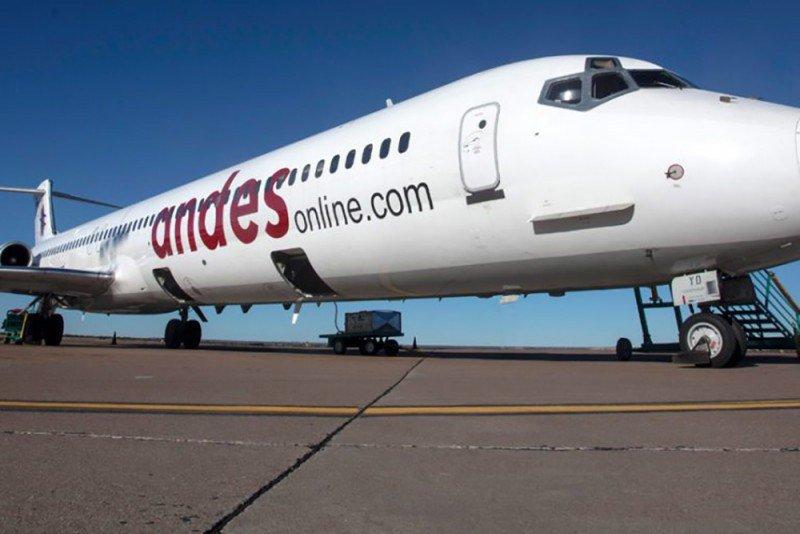 Andes conectará Salta con Bariloche, Córdoba y Foz de Iguazú