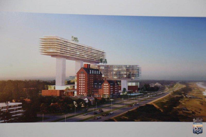 Nueva propuesta de inversión de US$ 400 millones para el proyecto de Giuseppe Cipriani en San Rafael. Fotos: Intendencia de Maldonado.