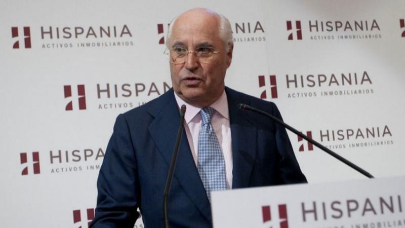 El presidente de Hispania, Rafael Miranda. Foto: Efe.