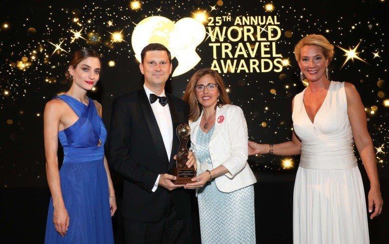David Noack, director de Madrid Convention Bureau (MCB), fue el encargado de recoger el galardón el pasado sábado en Atenas.