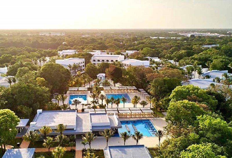 El Riu Tequila en Playa del Carmen es uno de los hoteles más emblemáticos de la cadena española en México. y está cumpliendo su 20° aniversario.