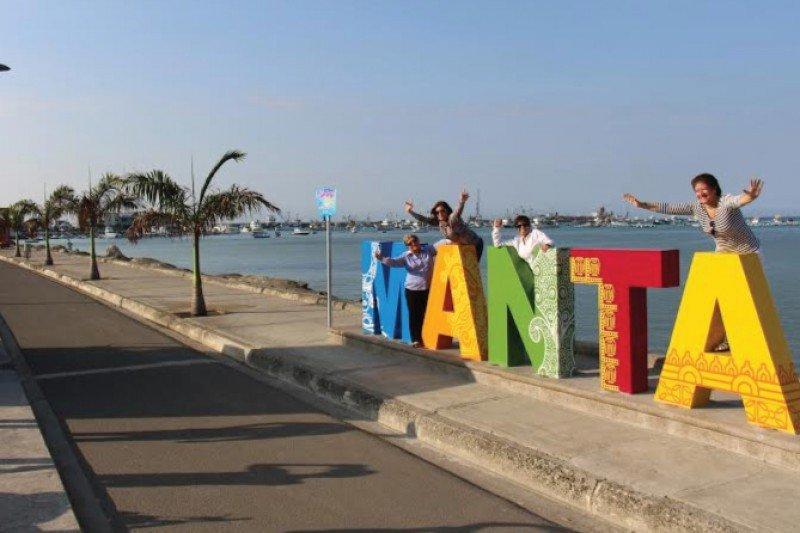 El turismo es un sector clave para la recuperación de la ciudad de Manta y la región de Manabí. Foto: Ecuavisa.
