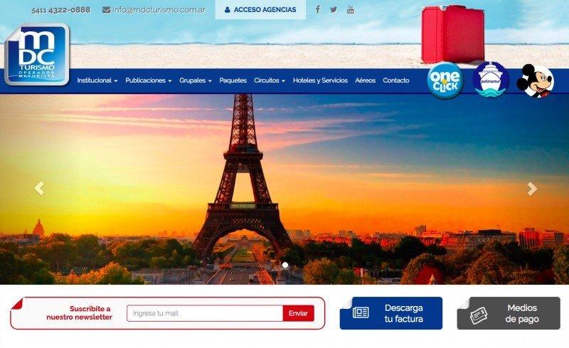 Posible quiebra del operador MDC Turismo pone en alerta a agencias argentinas