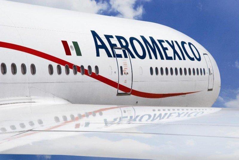 Tráfico internacional impulsa crecimiento semestral de Aeroméxico